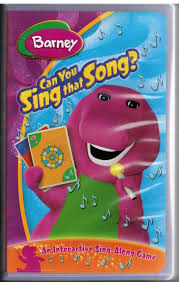 trailers from barney can you sing that song 2005 vhs custom