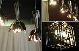 How To Make Crystal Chandelier 21 Diy Lamps U0026 Chandeliers You Can Create From Everyday Objects