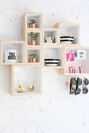 Modern Wooden Shelf Design by Best 25 Box Shelves Ideas On Pinterest Shelf Ideas Diy