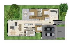 home decor luxury large home decoration ideas large floor plan home decor large floor plan design with green garden surrounding the house with square garage