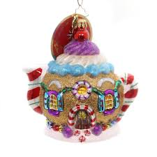 christopher radko sweet tea glass ornament sbkgifts com