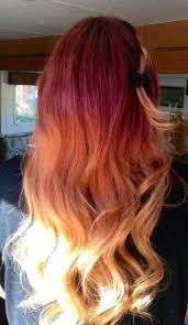 31 best ombre hair images on pinterest red ombre hair