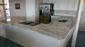 White Hut Kitchen by Sequoia Or Fantasy Brown Granite Lake House White Cabinets