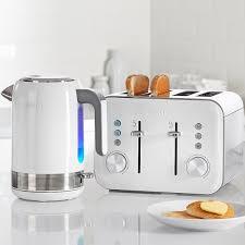 Best Four Slice Toaster Uk White High Gloss Collection 4 Slice Toaster Vtt687 Breville