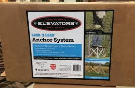 Deer Blind Elevator Brackets Tree Stands Hunting Blinds U0026 Accessories Blue River Outdoor