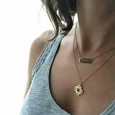 Personalized Photo Pendant Necklace Best 25 Engraved Necklace Ideas On Pinterest Personalized