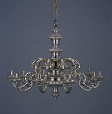Colonial Chandelier Colonial Williamsburg Brings Out Its Best Silver For Grand Affair