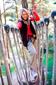 Treetop Canopy Tours by Take On Thrilling Zip Line Canopy And Ropes Course Tours