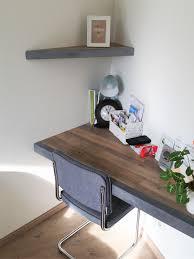 bureau beton ciré bureau met schap combi beton cire beal mortex met pvc gerflor