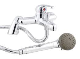 modern taps eon d type single lever bath shower mixer deck
