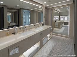 boeing bbj 787 vip private jet interior photos australian while behind that the bathroom boasts an oversized two person shower and heated floors