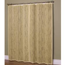 bamboo wall panels with nice bamboo ring top curtain panels design