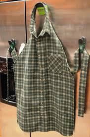 fabriquer un tablier de cuisine comment fabriquer un tablier à partir d une chemise homme couture