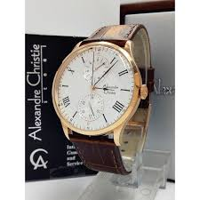 Jam Tangan Alexandre Christie Cowok jam tangan alexandre christie ac 6437 mf dbwrgwh pria sport elevenia
