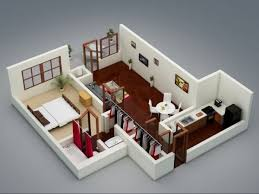 One Bedroom Apartment Plans And Designs Large One Bedroom 25 House Apartment Plans Design