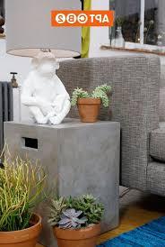 furniture wonderful square concrete coffee table concrete table