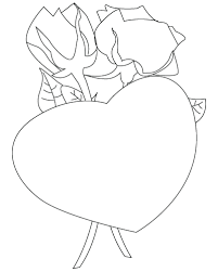 heart coloring pages 2 coloring pages print