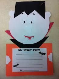Halloween Poems For First Grade Halloween Craftivity Today In Second Grade