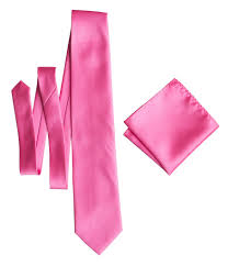 hot pink colour hot pink pocket square solid color satin finish no print