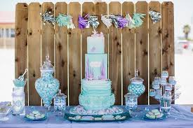 mermaid party supplies 34 creative girl birthday party themes ideas my