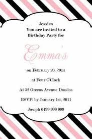 birthday flourish square w magnet in pastel pink invitation