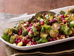 roasted brussels sprouts with pomegranate and hazelnuts recipe