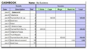 Small Business Accounting Excel Template Small Business And Non Profit Bookkeeping With Excel Spreadsheets