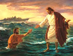 jesus walk on the water on the sea of galilee all things holy