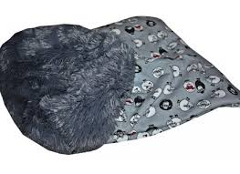 Cuddle Cup Dog Bed Susan Lanci Cuddle Cup Dog Bed In Platinum Chinchilla Dog Beds And