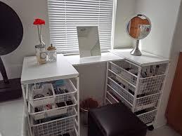 Vanity Table Diy Black Bedroom Vanity Table With 5 Drawers Decofurnish