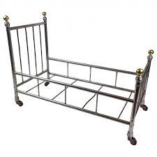 Metal Bed Frame Casters Miniature Antique Metal Bed Frame On Casters Jonny Williamson