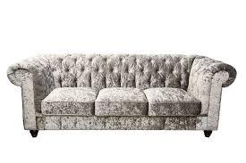 furniture4u launches ultra plush crushed velvet chesterfield
