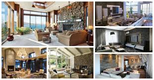 15 great living room designs with stone walls
