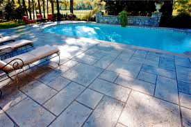 Fractured Earth Concrete Stamp by Stamped Concrete Chicago Il Patios Pool Decks Driveways