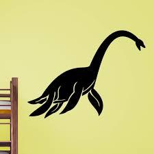 sea monster dinosaur wall sticker world of wall stickers sea monster dinosaur wall sticker decal a