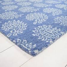 parthia rug in blue and white joshua lumley contemporary