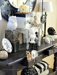 black and white halloween decor home design ideas