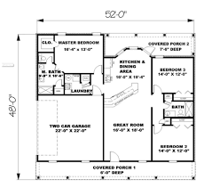 1500 sq ft house plans with garage house plans