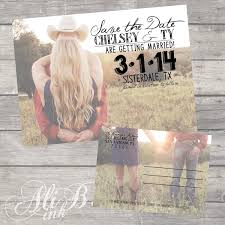rustic save the date post card printable by alibink on etsy