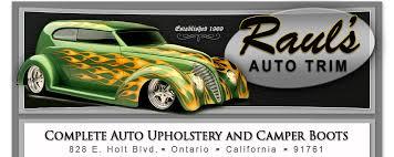 Upholstery Auto Raul U0027s Auto Trim Inc Ontario California Inland Empire