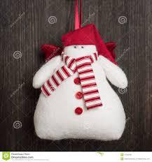 snowman christmas handmade toy stock photo image 47003431