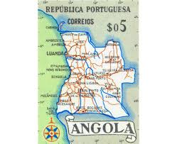 angola physical map maps of angola detailed map of angola in tourist map