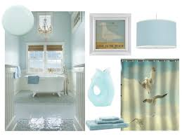 Light Blue Bathroom Paint by Coastal Inspired Bathroom In Light Blue With A Hint Of Sand