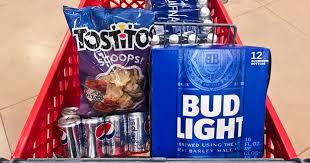 bud light 8 pack target bud light 12 pack tostitos chips pepsi mini cans 8 pack