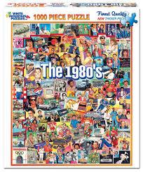 amazon com white mountain puzzles the eighties 1000 piece