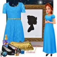 Wendy Darling Halloween Costume Wendy Darling Inspired Bounding Role Play Casual