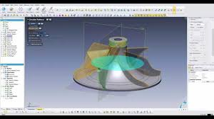 reverse engineering from partial 3d scan impeller youtube