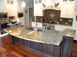 stainless steel top kitchen island breakfast bar black quartz waterfall countertop granite countertops marble unbelievable quartz top kitchen kitchen island with stove
