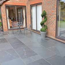 Patio Pointing Compound Brett Slate U0027style U0027 Olive Black Paving Slabs Paving Superstore