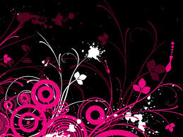 mesmerizing pink and black designs simple interior designing home